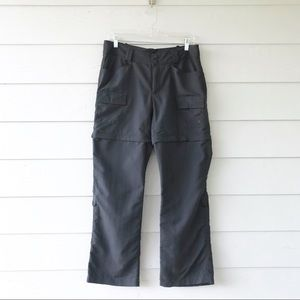 The North Face Gray Paramount Convertible Pants